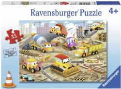 RAVENSBURGER -  RAISE THE ROOF! (35 PIECES) - 4+