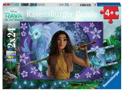 RAVENSBURGER -  RAYA AND THE LAST DRAGON (2X24 PIECES) - 4+