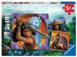 RAVENSBURGER -  RAYA AND THE LAST DRAGON (3X49 PIECES) - 5+