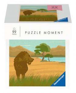 RAVENSBURGER -  SAFARI (99 PIECES) -  PUZZLE MOMENT