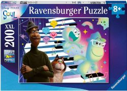 RAVENSBURGER -  SOUL - JAZZ, PIANO AND FRIENDSHIP (200 PIECES XXL) - 8+