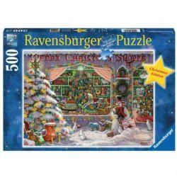 RAVENSBURGER -  THE CHRISTMAS SHOP (500 PIECES)