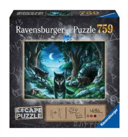 RAVENSBURGER -  THE CURSE OF THE WOLVES (759 PIECES) -  ESCAPE PUZZLE