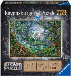 RAVENSBURGER -  THE UNICORN (759 PIECES) -  ESCAPE PUZZLE