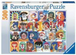 RAVENSBURGER -  TYPEFACES (500 PIECES)