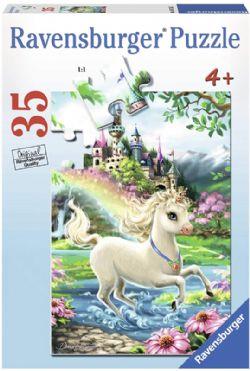 RAVENSBURGER -  UNICORN CASTLE (35 PIECES) - 4+