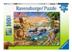RAVENSBURGER -  WATERHOLE (100 XXL PIECES) - 6+