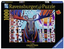 RAVENSBURGER -  WINTER MOOSE (1000 PIECES)