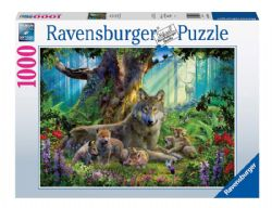 RAVENSBURGER -  WOLVES IN THE FOREST (1000 PIECES)
