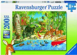 RAVENSBURGER -  WOODLAND FRIENDS (200 PIECES XXL) - 8+