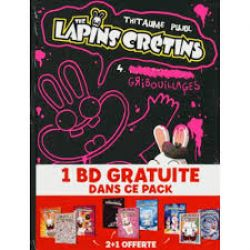 RAVING RABBIDS, THE -  FOURREAU (TOME 04-06)