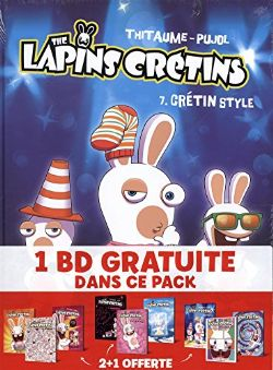 RAVING RABBIDS, THE -  FOURREAU (TOME 07-09)