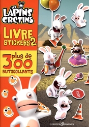 RAVING RABBIDS, THE -  LIVRE D'AUTOCOLLANTS 02