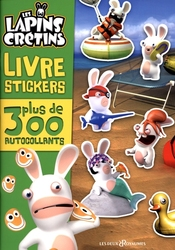 RAVING RABBIDS, THE -  LIVRE D'AUTOCOLLANTS