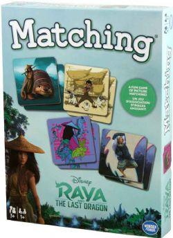 RAYA AND THE LAST DRAGON -  MATCHING GAME (MULTILINGUAL)