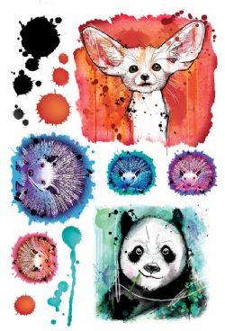 REAL ART, FAKE TATTOO -  ANIMALS