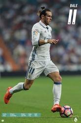 REAL MADRID -  2016 GARETH BALE POSTER (22