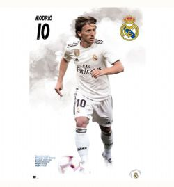 REAL MADRID FC 2020-POSTER -  LUKA MODRIC #10 (24