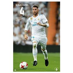 REAL MADRID FC -  SERGIO RAMOS #04 POSTER (24