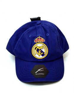 REAL MADRID -  LOGO ADJUSTABLE CAP - BLUE