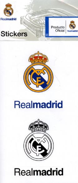 REAL MADRID -  STICKERS