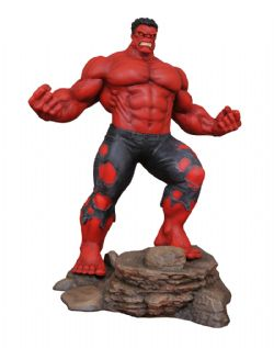 RED HULK -  RED HULK PVC STATUE (10INCHES) -  MARVEL GALLERY