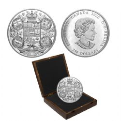 REIMAGINED 1905 ARMS OF DOMINION OF CANADA -  2020 CANADIAN COINS
