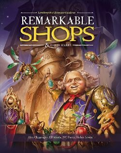 REMARKABLE SHOPS & THEIR WARES HC (ENGLISH)