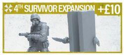 RESIDENT EVIL 2 -  4TH SURVIVOR EXPANSION (ENGLISH)