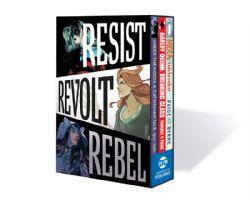 RESIST REVOLT REBEL -  DC GRAPHIC NOVEL BOX SET