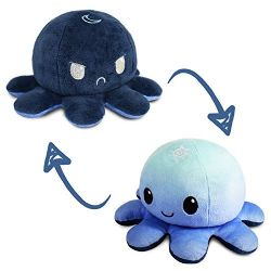 REVERSIBLE PLUSHIES -  DAY AND NIGHT -  OCTOPUS