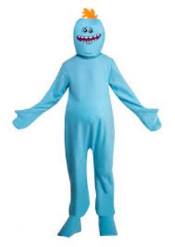 RICK AND MORTY -  MR. MEESEEKS COSTUME (ADULT - LARGE 44)