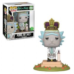 RICK AND MORTY -  POP! VINYL FIGURE OF KING OF S#!+ (6 INCH) 694