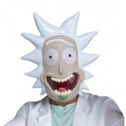 RICK AND MORTY -  RICK SANCHEZ VACUFORM MASK (ONE SIZE)