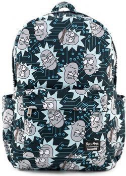 RICK & MORTY -  RICK BACKPACK -  LOUNGEFLY