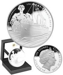 RMS TITANIC -  2012 UNITED KINGDOM COINS