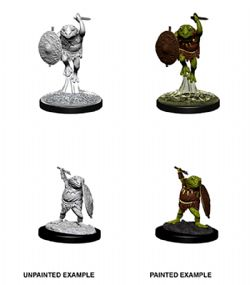 ROLEPLAYING MINIATURES -  BULLYWUG -  D&D NOLZUR'S MARVELOUS UNPAINTED MINIATURES