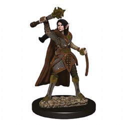 ROLEPLAYING MINIATURES -  FEMALE ELF CLERIC -  ICONS OF THE REALMS PREMIUM MINIATURES
