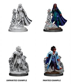 ROLEPLAYING MINIATURES -  FEMALE TIEFLING SORCERER -  D&D NOLZUR'S MARVELOUS UNPAINTED MINIATURES