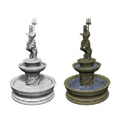 ROLEPLAYING MINIATURES -  FOUNTAIN -  WIZKIDS DEEP CUTS