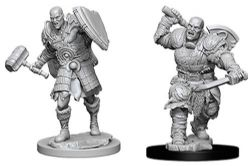 ROLEPLAYING MINIATURES -  GOLIATH FIGHTER FIGURES (2) -  NOLZUR'S MARVELOUS MINIATURES