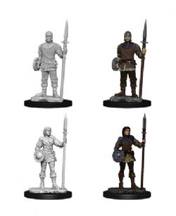 ROLEPLAYING MINIATURES -  GUARDS -  WIZKIDS DEEP CUTS