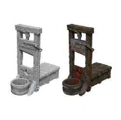 ROLEPLAYING MINIATURES -  GUILLOTINE -  WIZKIDS DEEP CUTS