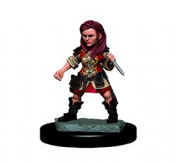 ROLEPLAYING MINIATURES -  HALFLING FEMALE ROGUE -  ICONS OF THE REALMS PREMIUM MINIATURES