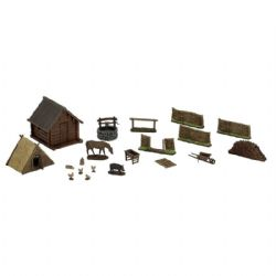 ROLEPLAYING MINIATURES -  HOMESTEAD -  WIZKIDS 4D SETTINGS