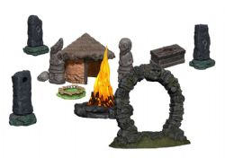 ROLEPLAYING MINIATURES -  JUNGLE SHRINE -  WIZKIDS 4D SETTINGS