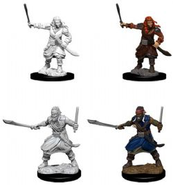 ROLEPLAYING MINIATURES -  MALE BANDITS FIGURES (2) -  NOLZUR'S MARVELOUS MINIATURES