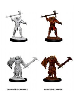 ROLEPLAYING MINIATURES -  MALE DRAGONBORN PALADIN -  D&D NOLZUR'S MARVELOUS UNPAINTED MINIATURES