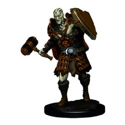 ROLEPLAYING MINIATURES -  MALE GOLIATH FIGHTER -  ICONS OF THE REALMS PREMIUM MINIATURES