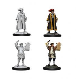 ROLEPLAYING MINIATURES -  MAYOR AND TOWN CRIER -  WIZKIDS DEEP CUTS